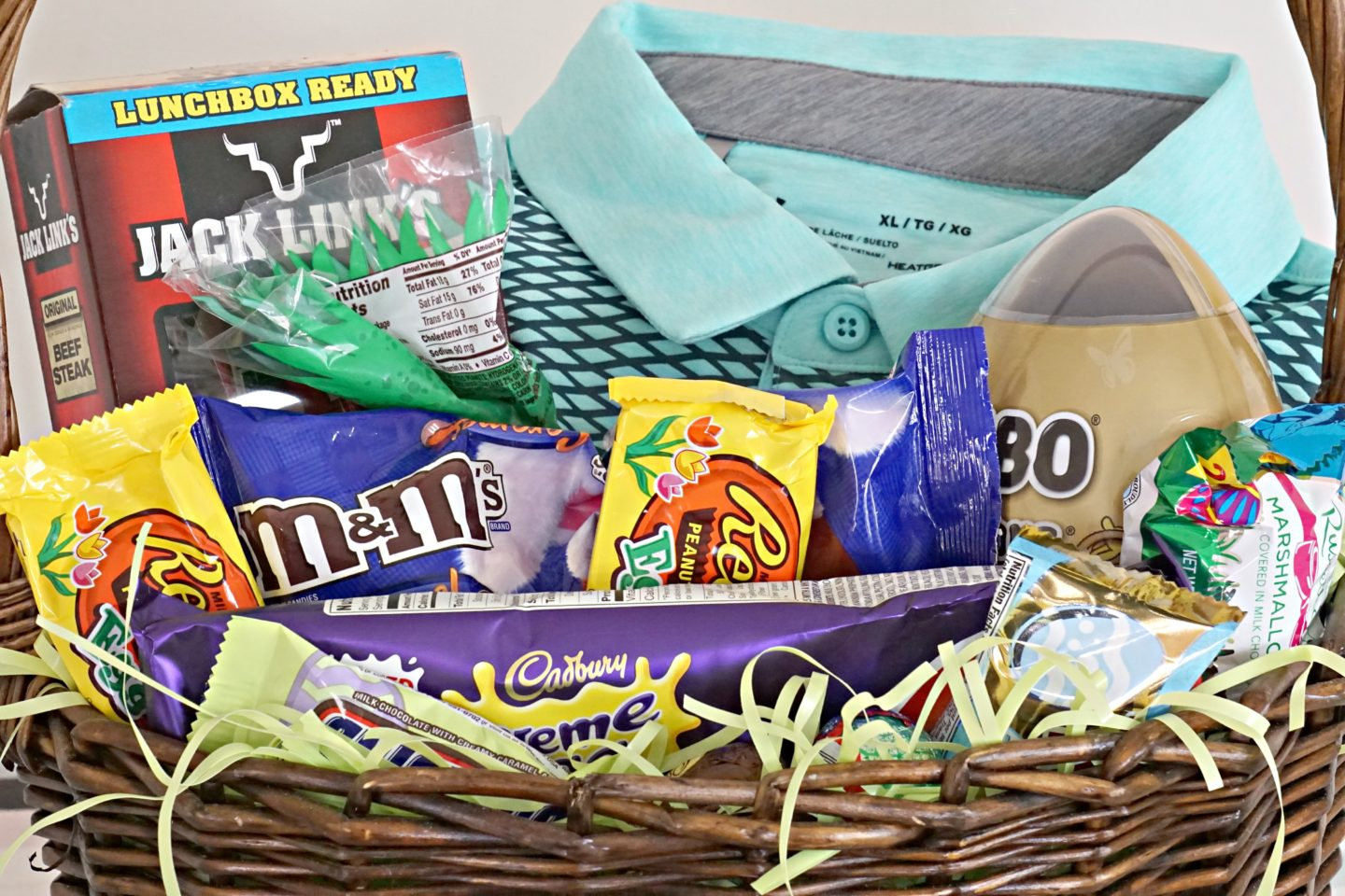 Easter baskets for the family crabcakes crew cuts scotts basket is easy year to year he likes golf he likes golf shirts i usually just get him a golf shirt and throw in all his favorite junk food that i negle Gallery